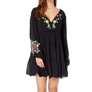 Free People Spell on You Embellished MiniDress NWT